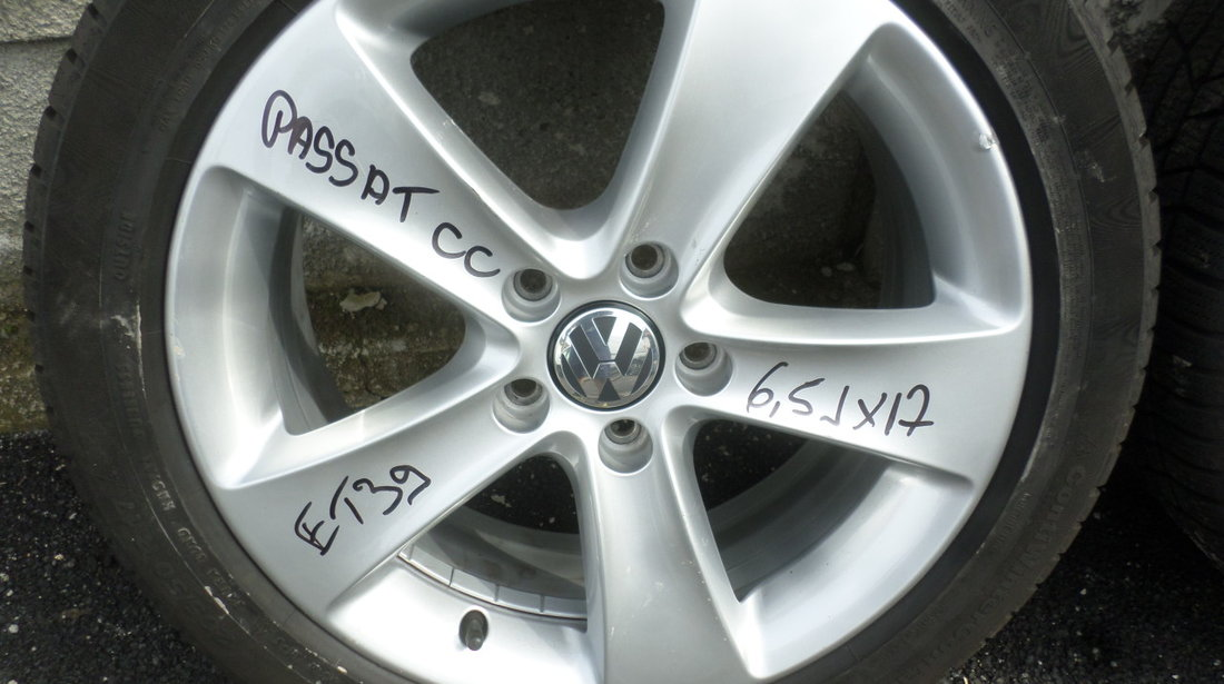 Jante 17 VW Passat CC 205 50 17 Iarna Continental
