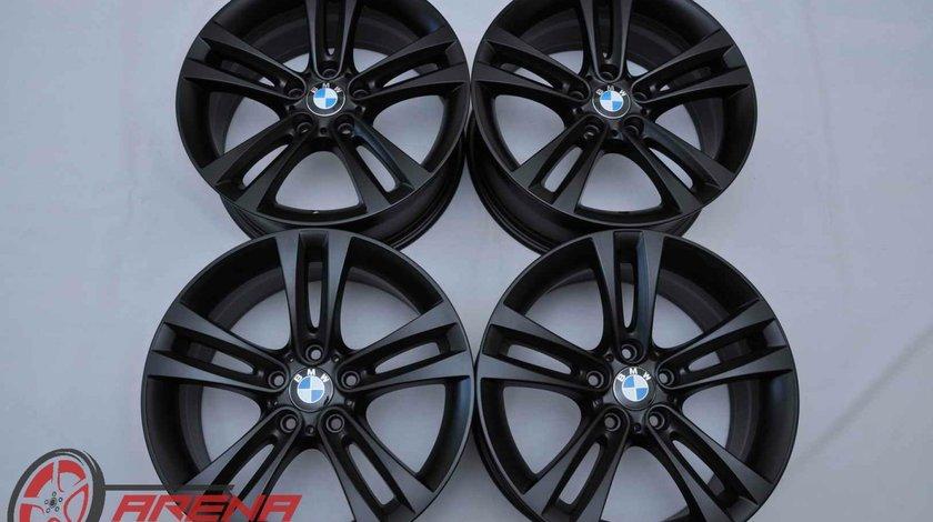 Jante 18 inch Originale BMW Seria 3 F30 F31 F34 GT Seria 4 F32 F33 F36 Style 397 R18 Negru