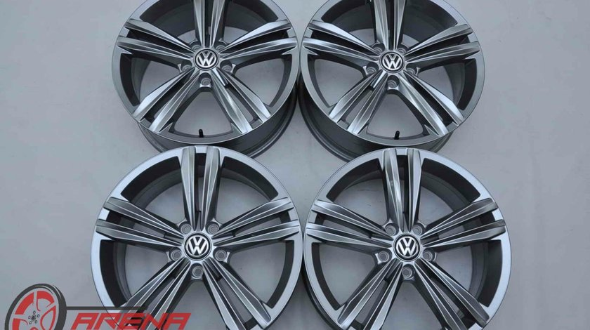 Jante 18 inch Originale VW T-Roc R18 Sebring Gri Antracit