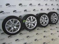 Jante 18'' Originale Audi A6 4G c7 Roti Iarna Complete 225/50R18 Dunlop