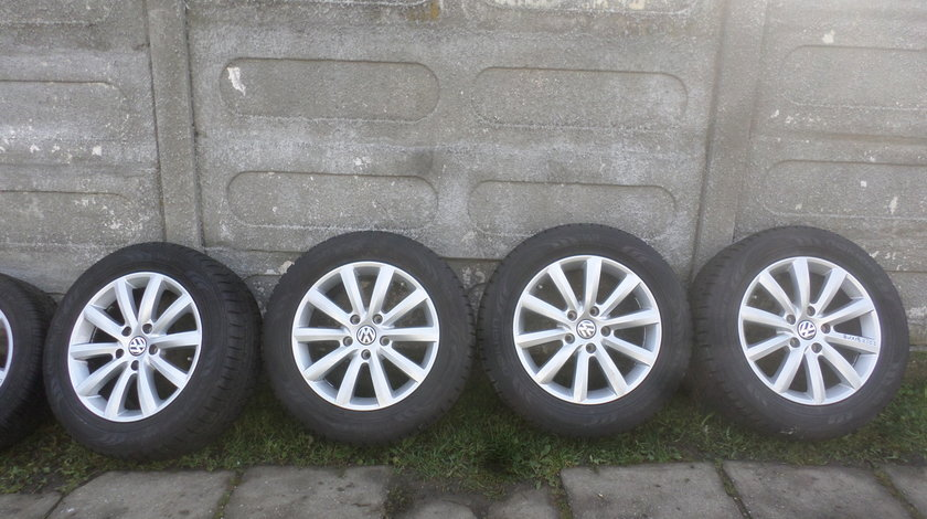 Jante 18 VW Touareg 255 55 18 Vara Noi Bridgestone Senzori de Presiune