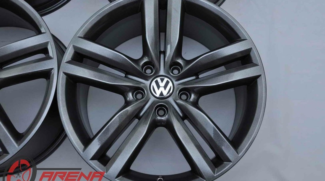 Jante 20 inch Originale VW Touareg 7P Pikes Peak Gri Antracit R20