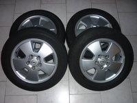 "Jante Aliaj  15"" 5x110 + Anvelope Vara 195  60 15 pt. Opel, Chevrolet, Etc"