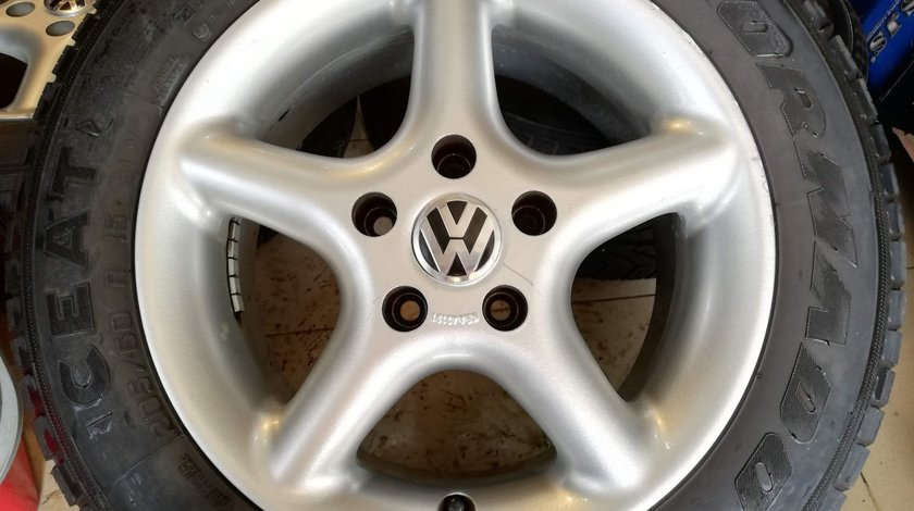Jante aliaj 15 VW Volkswagen Golf 5 6 7, Passat, Caddy, Touran, Sharan, Jetta – 5x112
