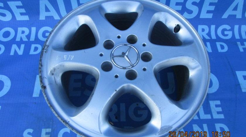 Jante aliaj 16'' 5x112 Mercedes E220 S210; ET 41