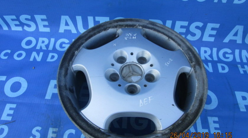 Jante aliaj 16'' 5x112 Mercedes E320 W210;  ET41 (fisurata)