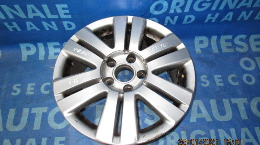 Jante aliaj 16'' 5x112 VW Passat B6 2006; ET45 7JX16H2 (julita)