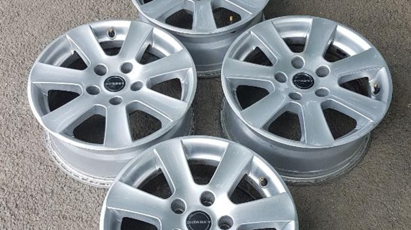 Jante aliaj 16 zoll marca Borbet Germany, gama BMW, Opel Insignia, VW T5/T6