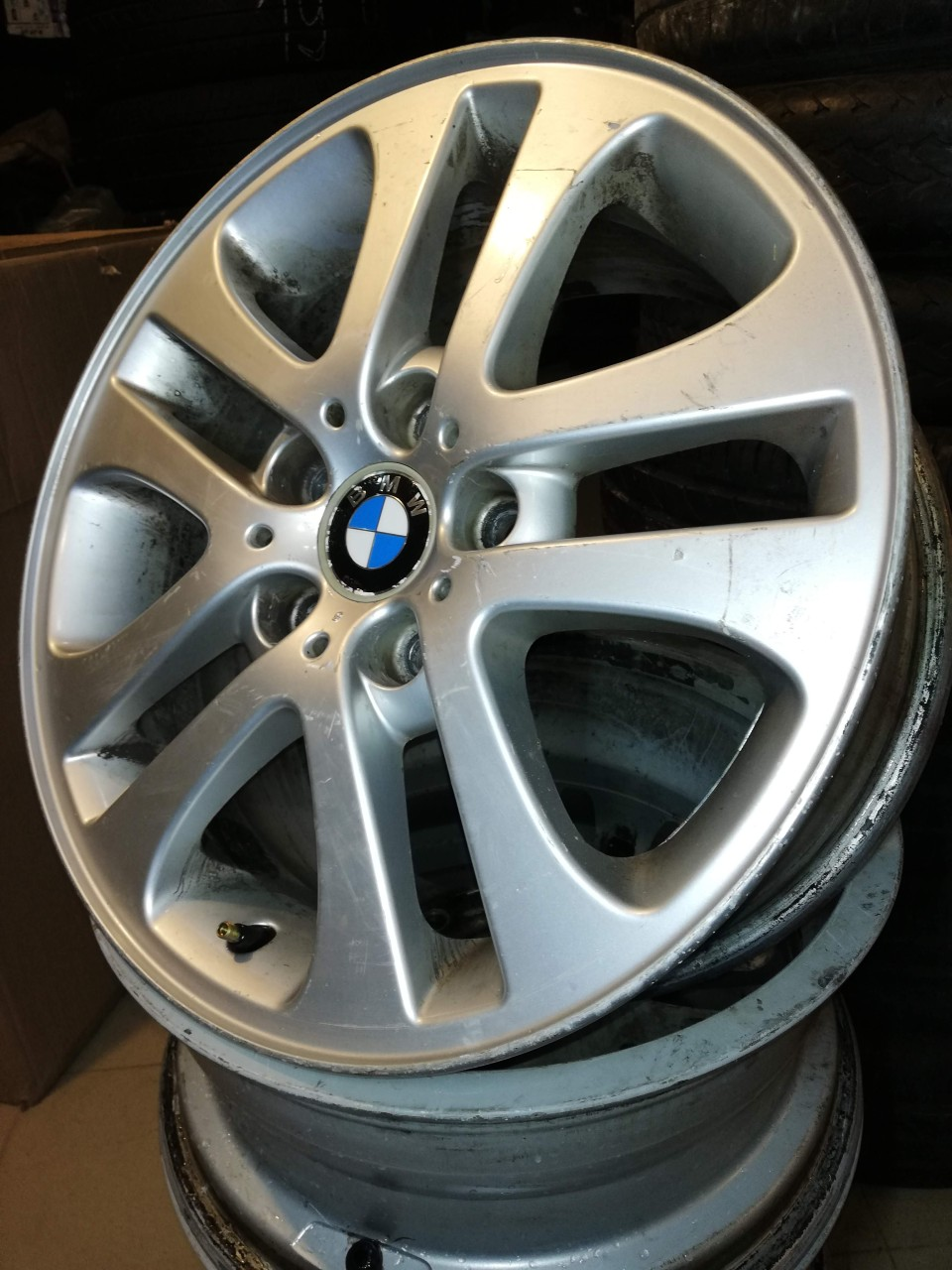 Jante aliaj 17 BMW Seria 3, X3 – originale 5x120