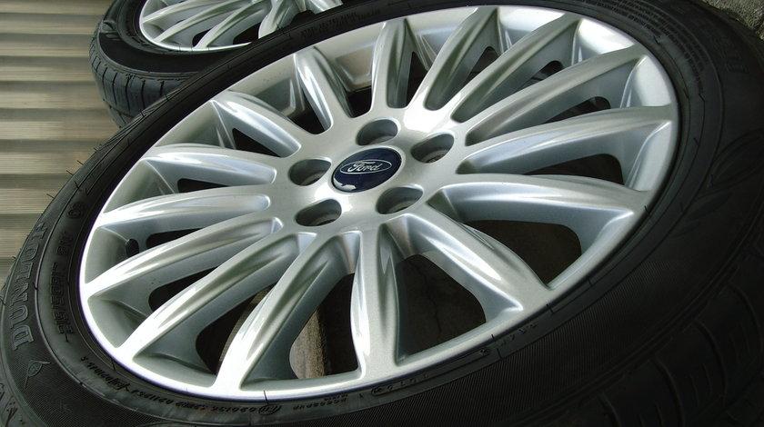 Jante aliaj 5x108 pe 17 orig.Ford Mondeo 2014,(Focus 2,Focus 3,C-Max,S-Max)/215/50R17 Dunlop 2016