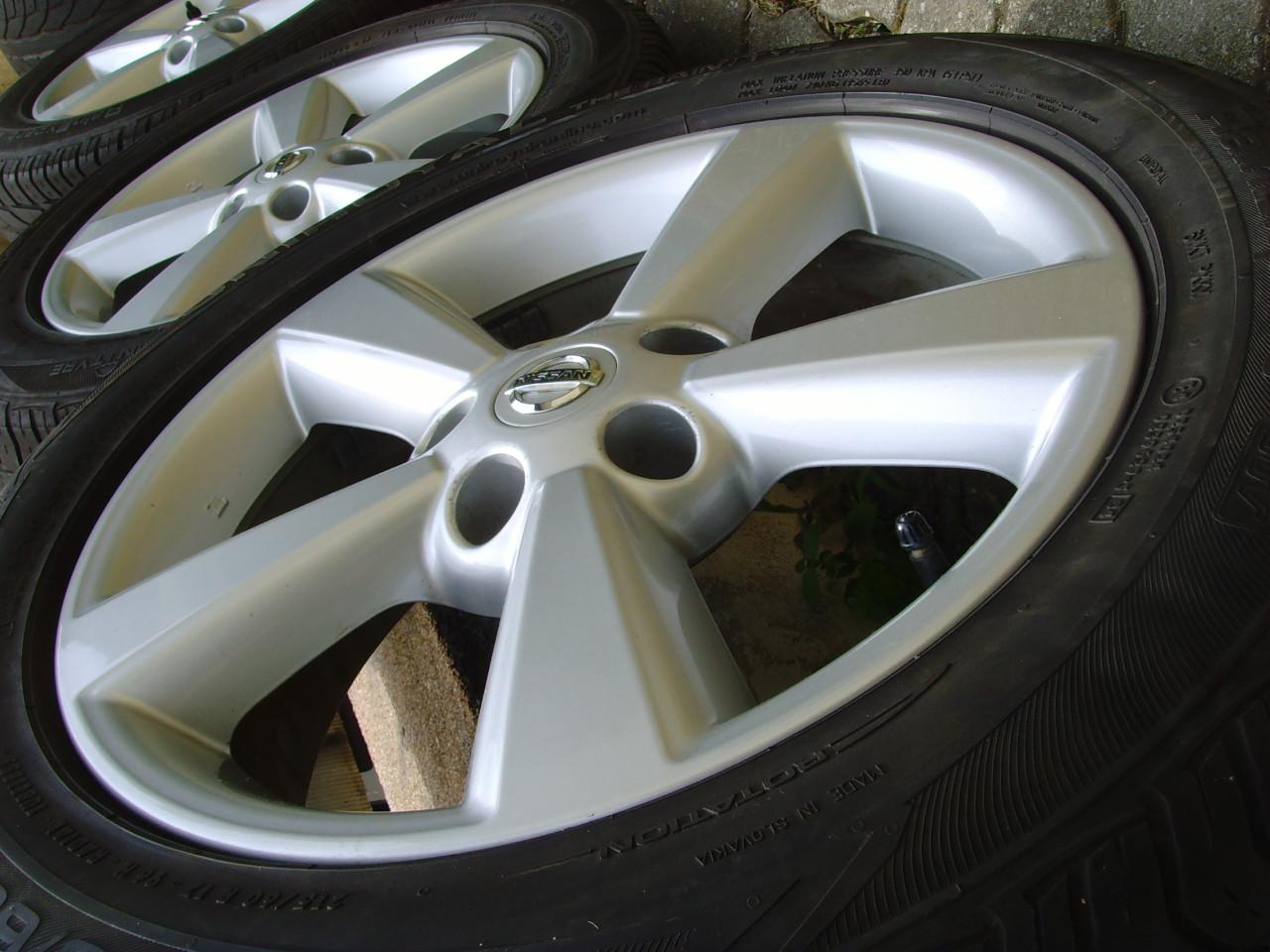 Jante aliaj 5x114,3 R17 origin.Nissan Qashqai 2013,(Dacia Duster)/anvelope vara 215/60 R17 Uniroyal