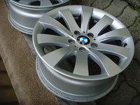 Jante aliaj 5x120 pe 18 originale BMW seria7;5GT (X3 F25,X4 F26),optional anvelope vara 245/50 R18
