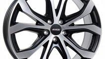 Jante aliaj ALUTEC W10-X RACING SCHWARZ FRONTPOLIE...