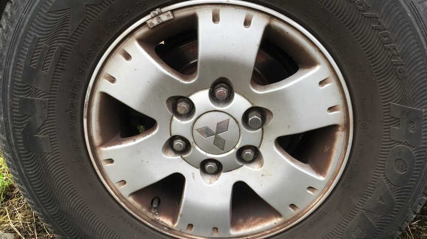 Jante Aliaj + Anvelope All Season Nexen 265/70/16 Mitsubishi Pajero MK3 1999-2006