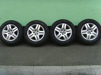 Jante aliaj Avus2, 5x100 pe 15 orig.VW Golf 4,Bora,(Octavia)/cauc.iarna 195/65R15 Michelin Alpin5