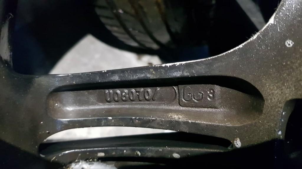 Jante aliaj cu anvelope 17 inch FORD TRANSIT CONNECT 8Jx17 H2 5x108 ET45