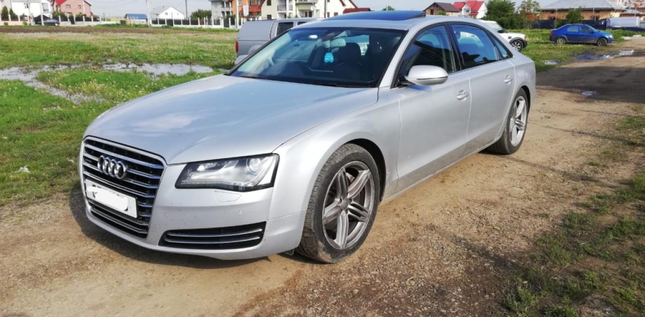 Jante aliaj cu anvelope 265/45 r20 inch '' Audi a7 a8 L 4h long motor 3.0tdi 250cp cdta cdtc 2011