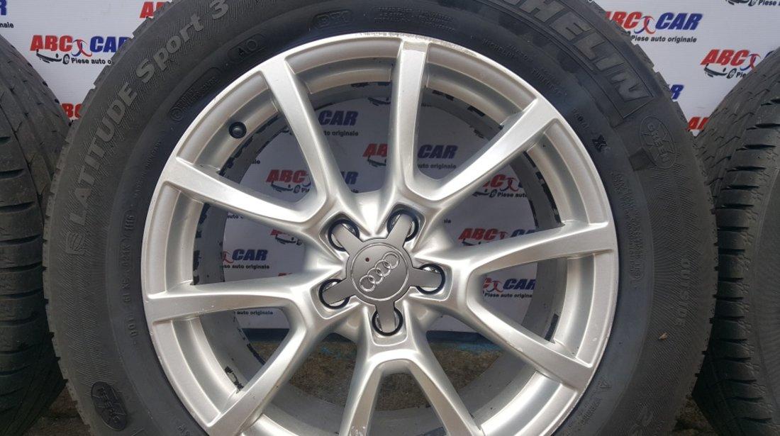 Jante aliaj cu anvelope de vara Audi Q5 8R 2008-2016 235/60 R18 Cod: 8R0601025C