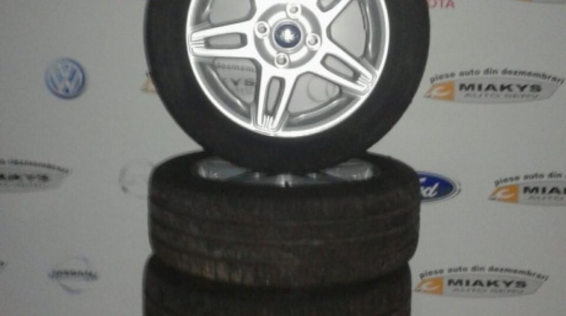 Jante aliaj cu anvelope Fiesta 6 195/55/16