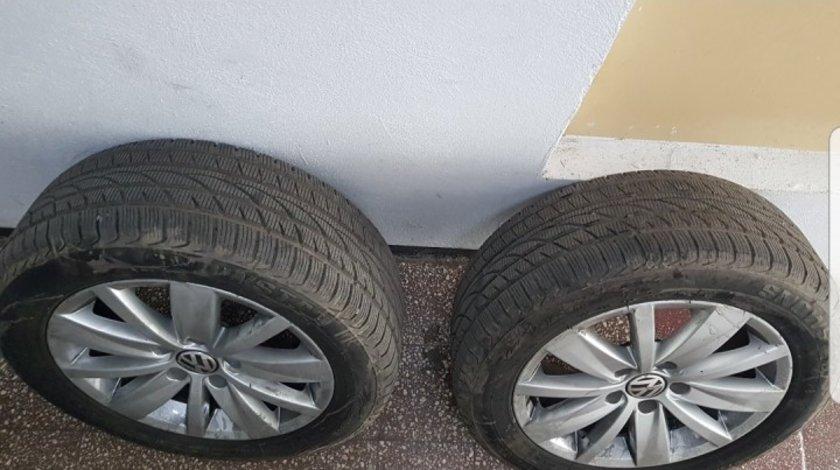 Jante aliaj cu anvelope noi R16 VW de iarna