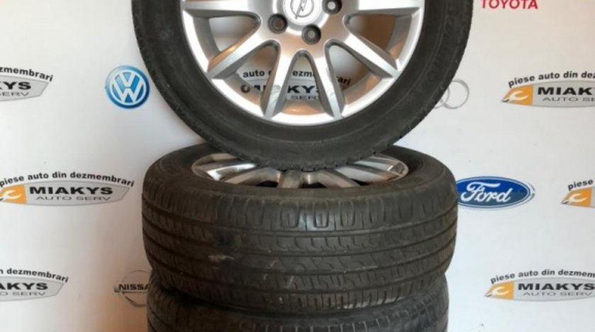 Jante aliaj cu anvelope Opel Astra H dim.205/55/16