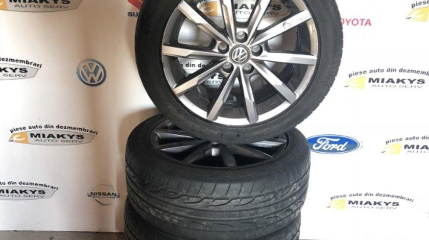 Jante aliaj cu anvelope VW Polo dim.215/45/16