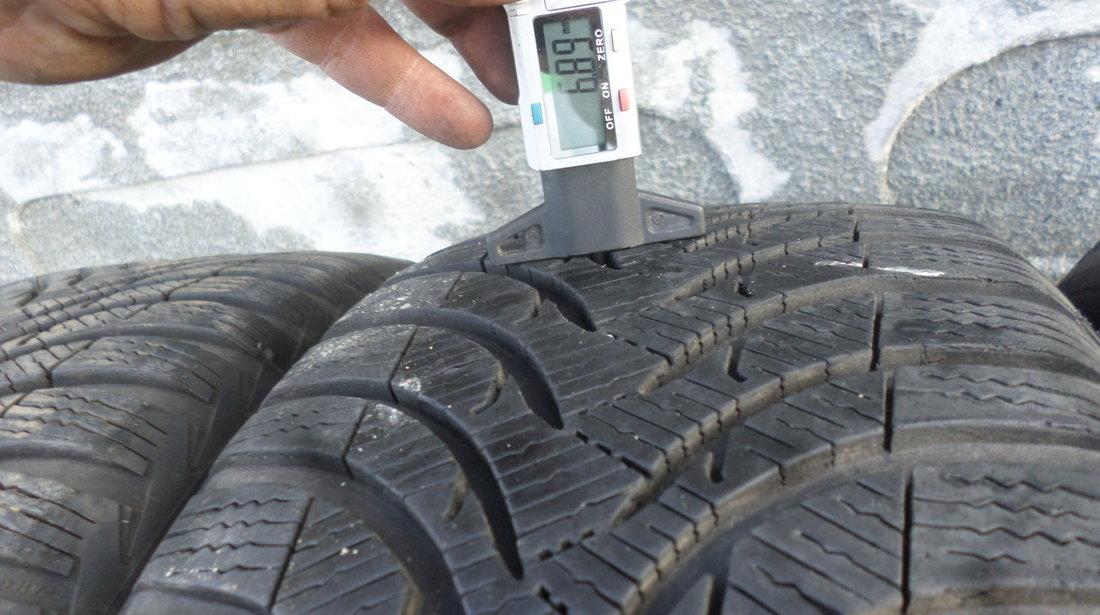 Jante aliaj marca RC DESIGN pentru audi vw seat skoda  cu anvelope iarna 225 50 17 michelin