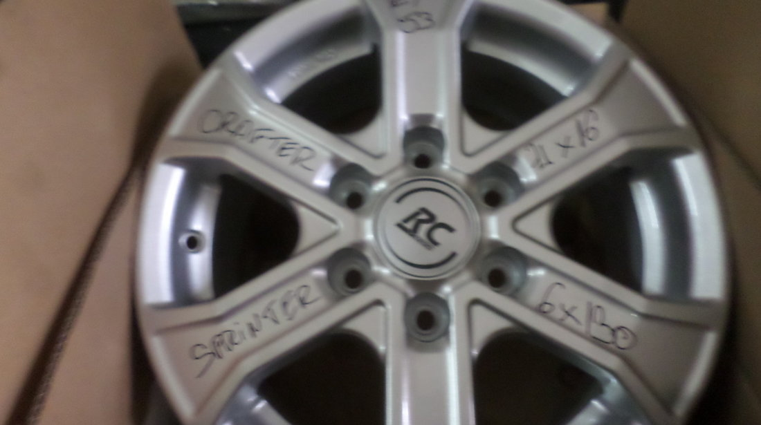 Jante Aliaj Mercedes Sprinter Vw Crafter 16 zoll  RC31