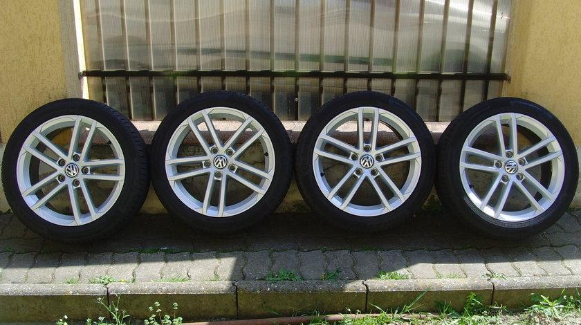 Jante aliaj model Curitiba 5x112 pe 17 orig.VW Golf 7 GTI;GTD;R(Golf 7,Touran,Jetta,Golf 6,Caddy,etc