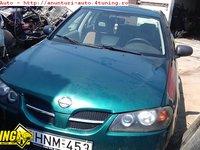 Jante aliaj Nissan Almera II hatchback an 2001an 2001 motor benzina 1498 cmc 66 kw 90 cp tip motor QG15DE dezmebrari Nissan Almera II an 2001