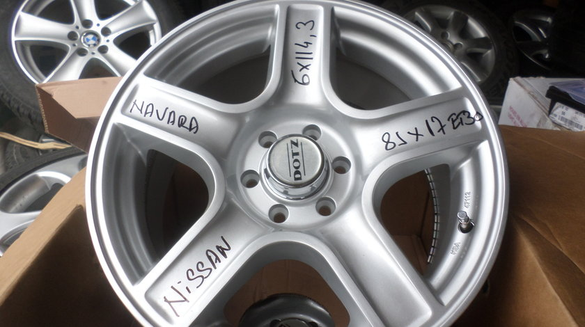 Jante aliaj Nissan Navara  17 zoll marca DOTZ  noi 6x114,3