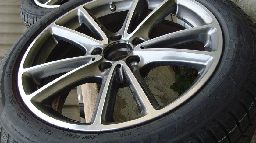 Jante aliaj Noi 5x112 pe 18 orig.Mercedes CLS 2019 (W257)/anvelope vara 245/45R18 100V Michelin