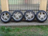 Jante aliaj Noi 5x112 pe 18 originale Mercedes S-Class W222+anvelope Noi 245/50 R18 Dunlop SportMax