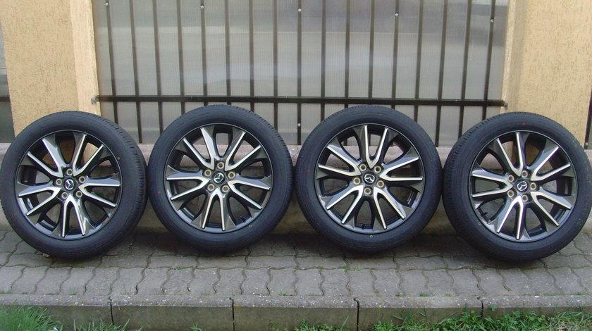 Jante aliaj Noi 5x114,3 pe 18 originale Mazda CX3 DK +anvelope Vara Noi 215/50 R18 92V Toyo Proxes