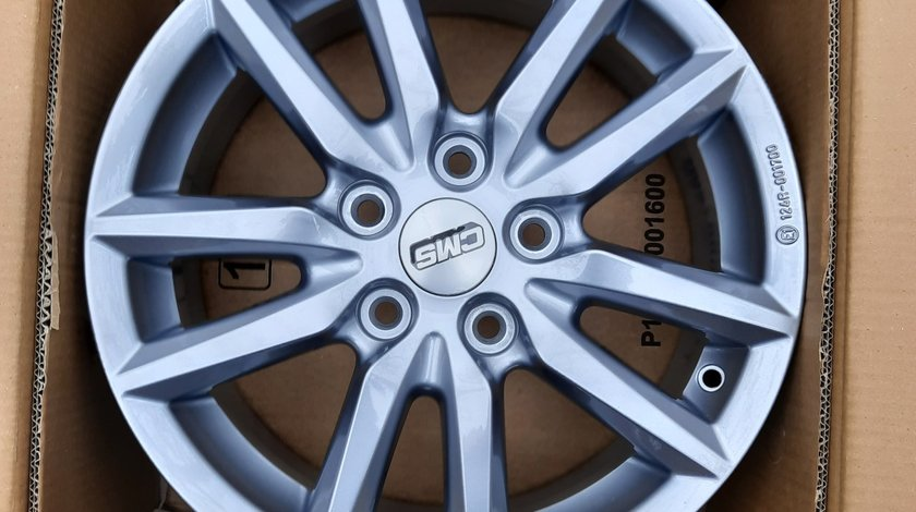 "Jante aliaj noi CMS C22 16"" 5x114.3, se potrivesc pe Dacia Duster, Renault, Nissan, Mazda, Kia, Hyun"