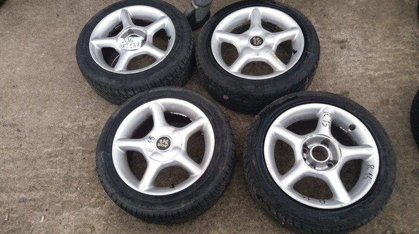 Jante aliaj Peugeot 206, R15, 7Jx15H2, 4 x 108-set 137, cod PEU-4A-8