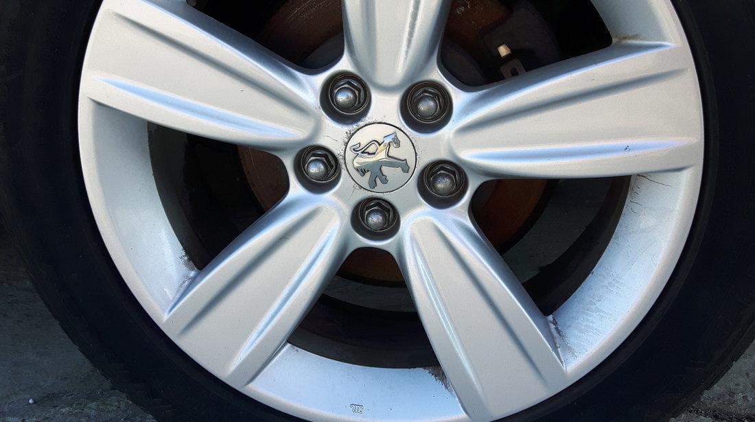 Jante Aliaj Peugeot 4007 225/55/R18  cu cauciucuri Vara