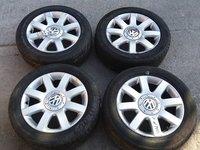 Jante aliaj Volkswagen Golf 5, R16, ET50, 6.5Jx16H2, 5 x 112