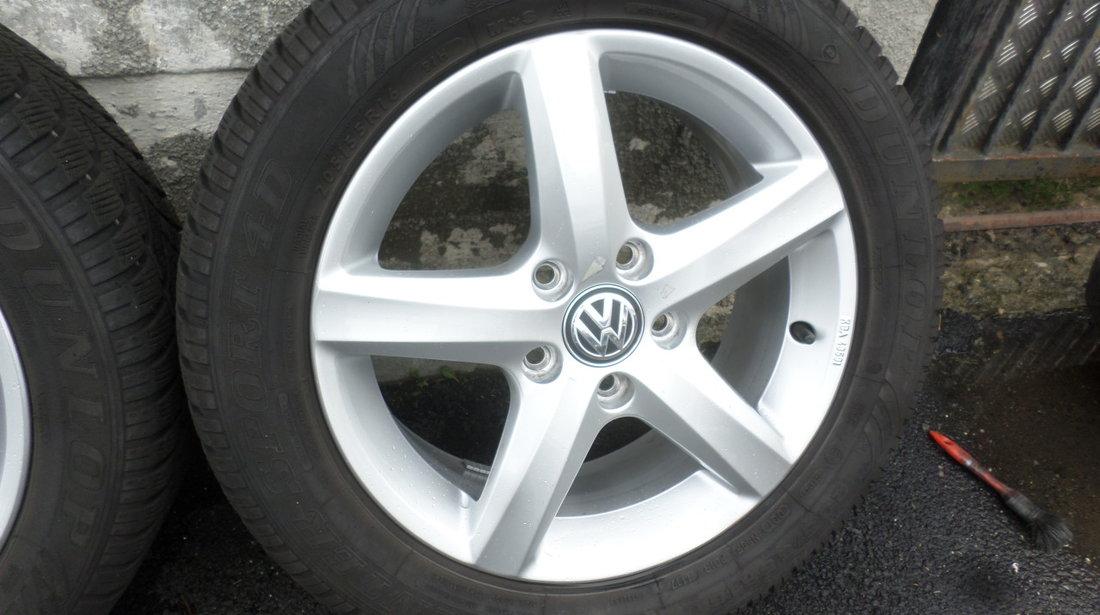 Jante ASPEN VW Golf 6 7 Passat 205 55 16 Iarna Dunlop