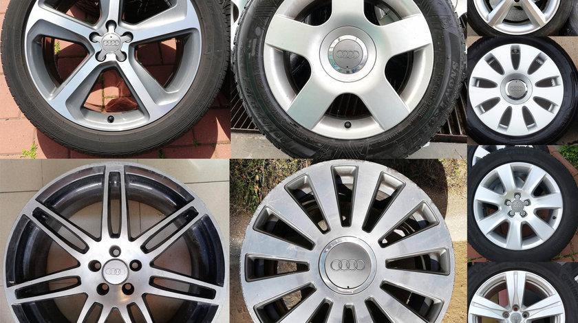 Jante Audi 15, 16, 17, 18, 19, 20 – orice model: A3, A4, A5, A6, A8, Q3, Q5, Q7