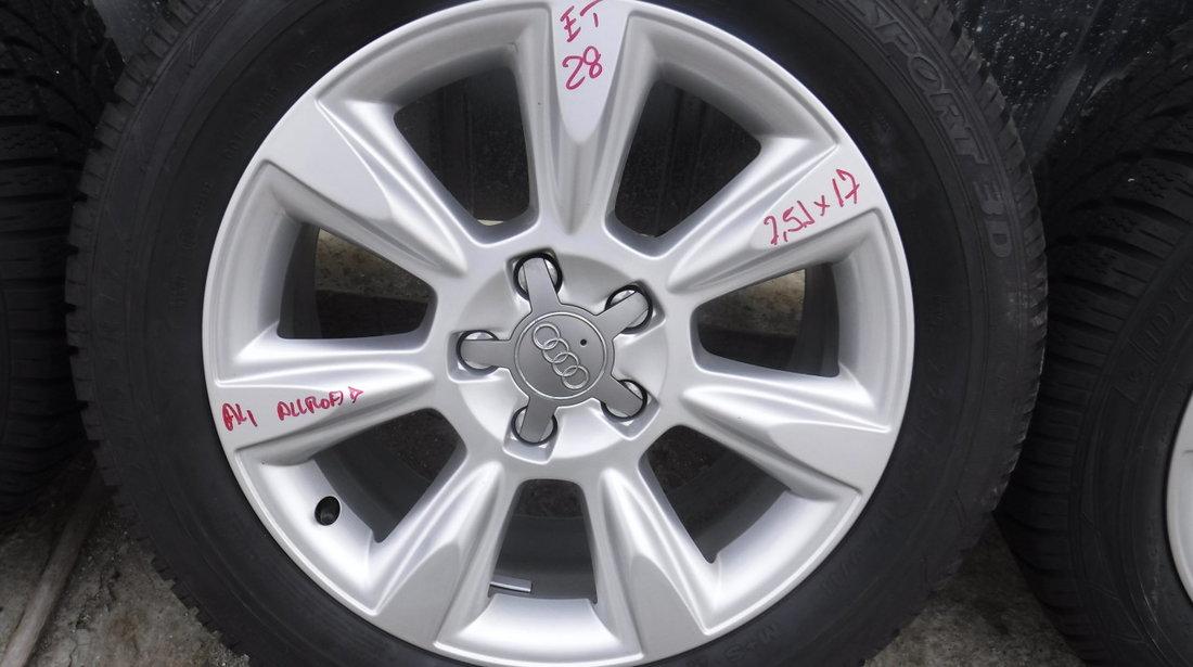Jante Audi A4 b8 Allroad  225 55 17 iarna Dunlop Sp Winter Sport 3D