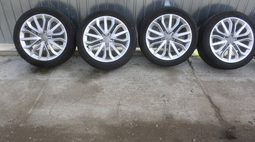 Jante audi A6 4G C7 S6 RS6 A7 cu anvelope iarna 235 45 19 Continental