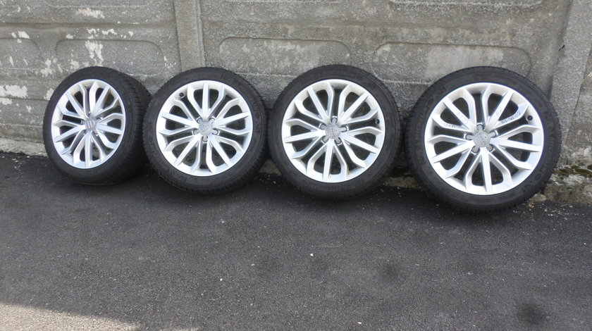 Jante audi A6 4G C7 S6 RS6  A7 cu anvelope iarna 235 45 19 Michelin