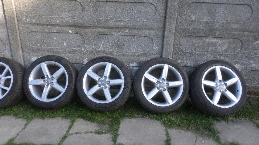 Jante Audi A6 4G C7  sau A4 B8 S-Line 245 45 18 vara Michelin & Goodyear