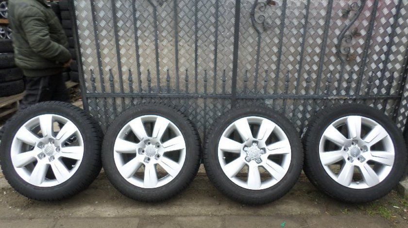 Jante Audi A6 All-Road 215 55 17 Iarna Goodyear