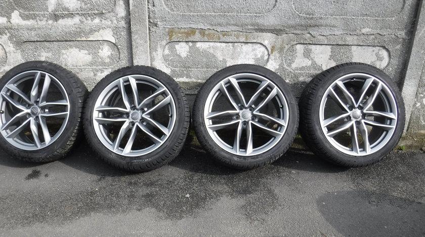 Jante audi A6 RS6  Bicolor cu anvelope 255 40 20 Iarna Dunlop