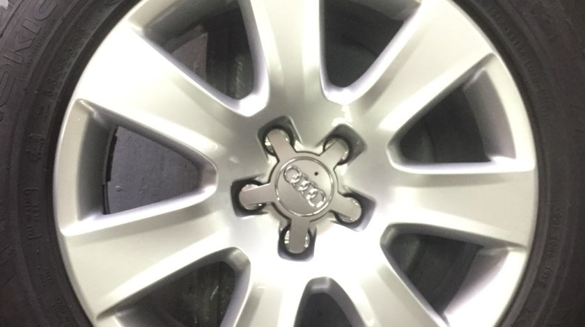 Jante Audi A8 4H R18 originale anvelope iarna 235/55R18 Nokian 8mm