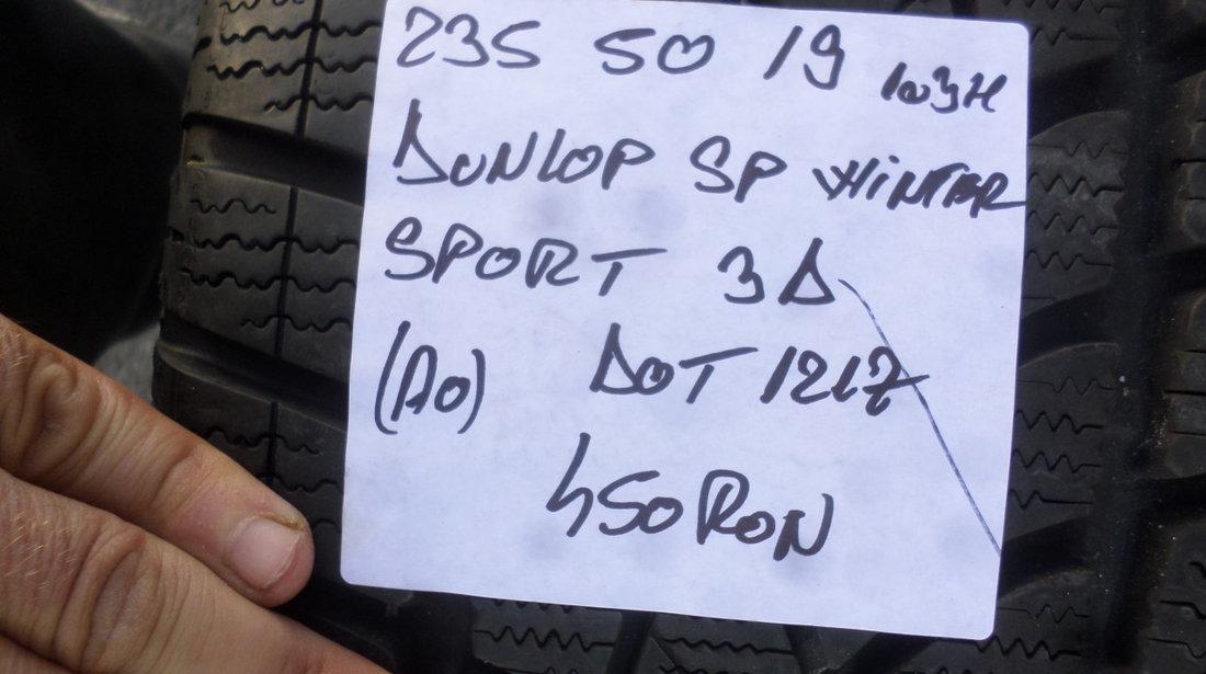 Jante Audi A8 S8 Iarna 235 50 19 Dunlop Sp Winter Sport 3d