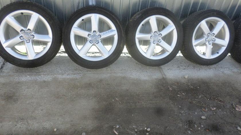 Jante Audi A8 S8 Iarna 235 50 19 Michelin Alpin