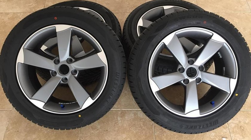 Jante Audi Model Rotor 17 R17 anvelope iarna 225-55-17 Audi A6 A7